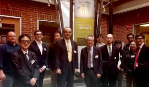 Japanese Electric Company visits